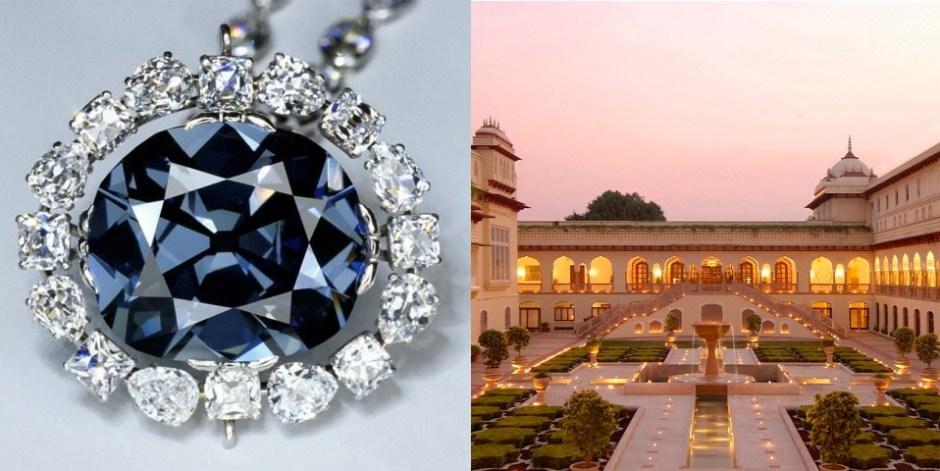 Marjolein van Rooij-Roeloffzen Taj Rambagh Palace Hope Diamond