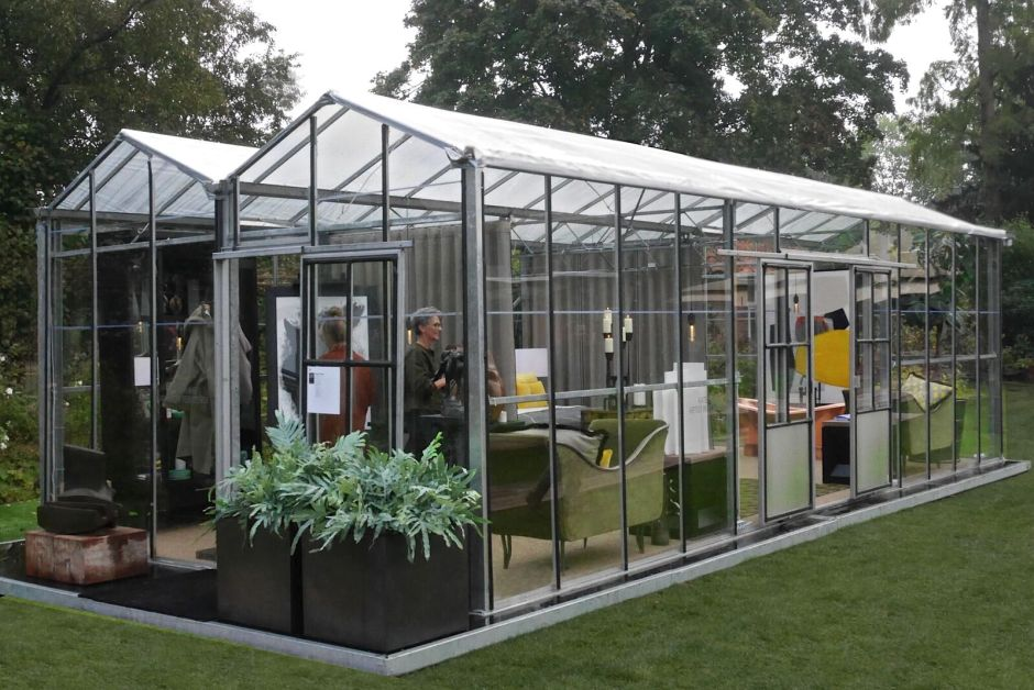 Salon Residence greenhouse Kate Hume