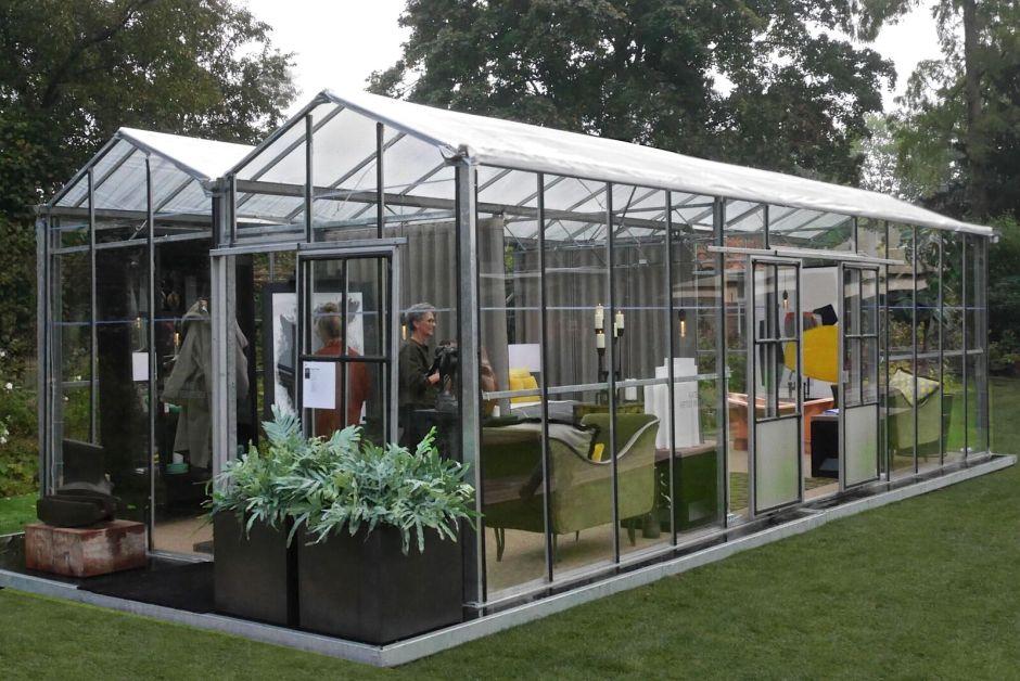 Salon Residence greenhouse Kate Hume