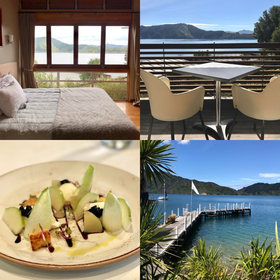 luxury lodges south island Bay of Many Coves