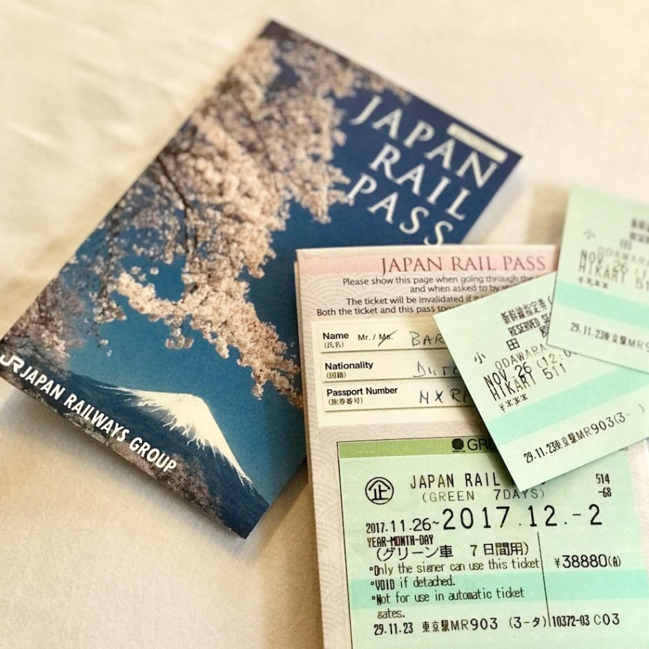 Shinkansen Japan Rail Pass