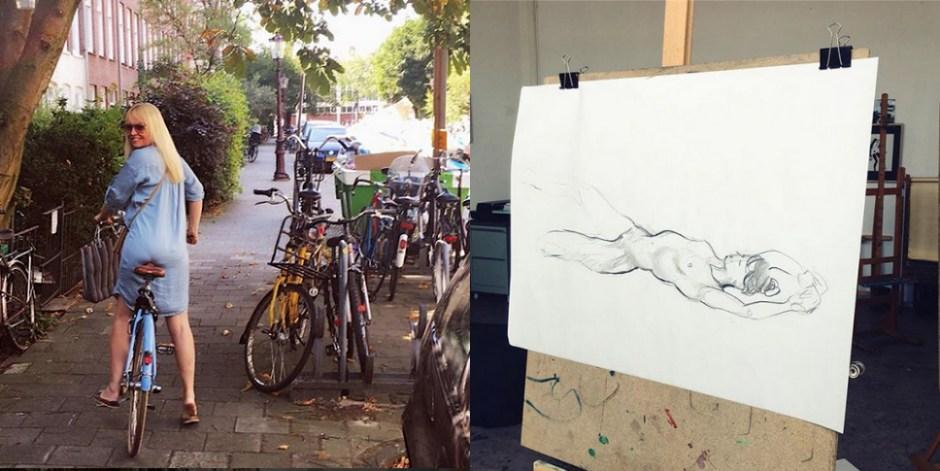 Hilmar Mulder art class