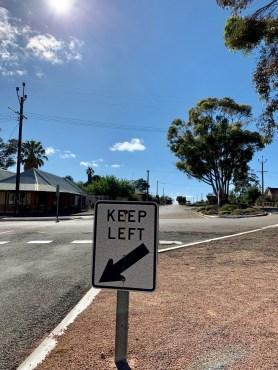 keep left Arkaba roadtrip