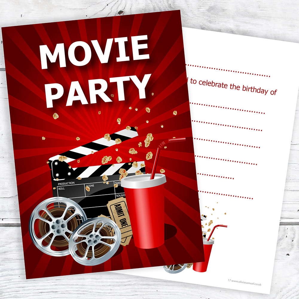 details about movie party