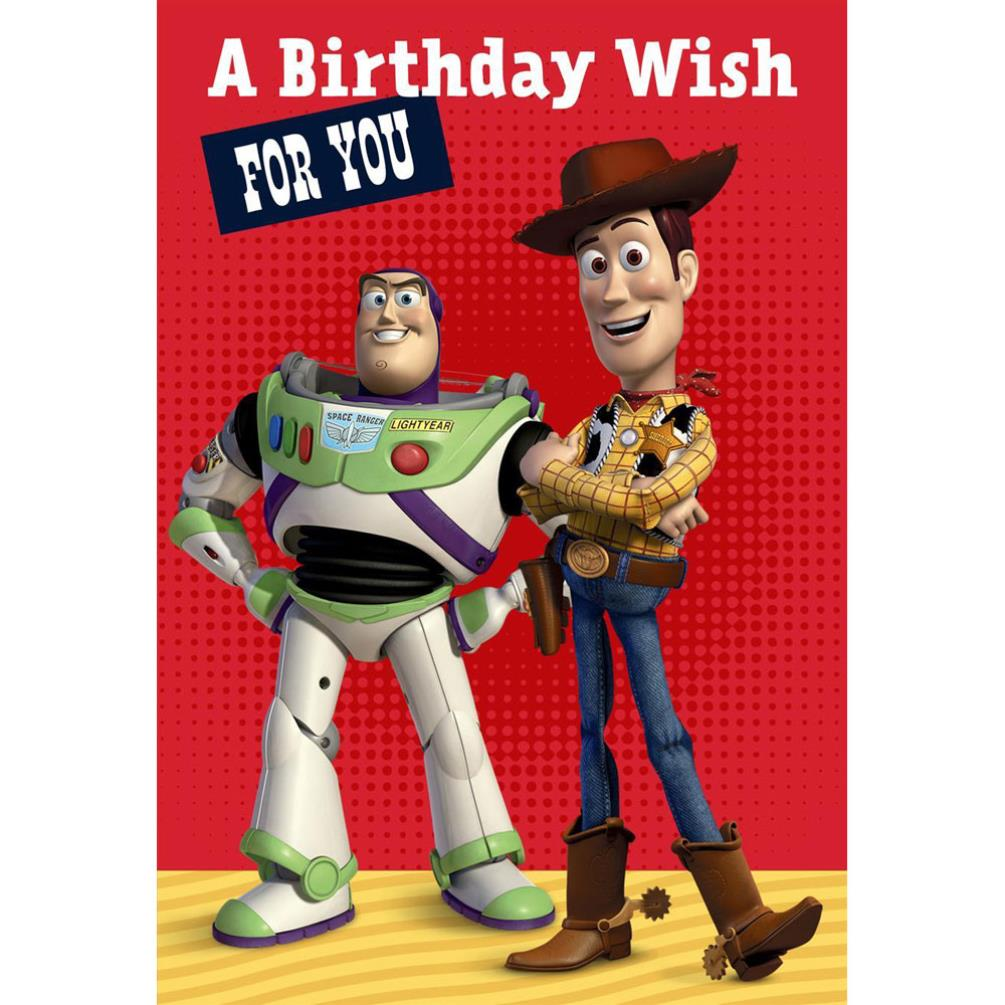 Birthday Wish Disney Toy Story Birthday Card 25470202