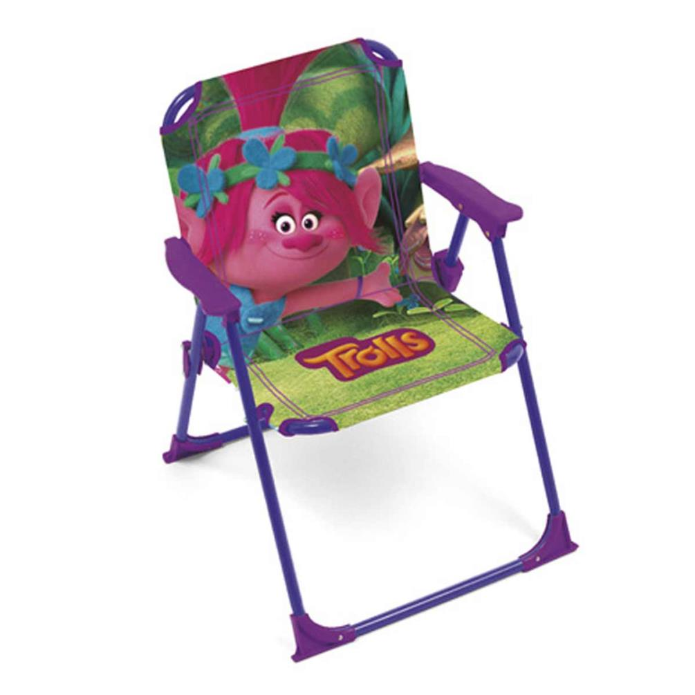 folding chair emoji blue kitchen cushions trolls foldable 8430957113508 character brands 17 99