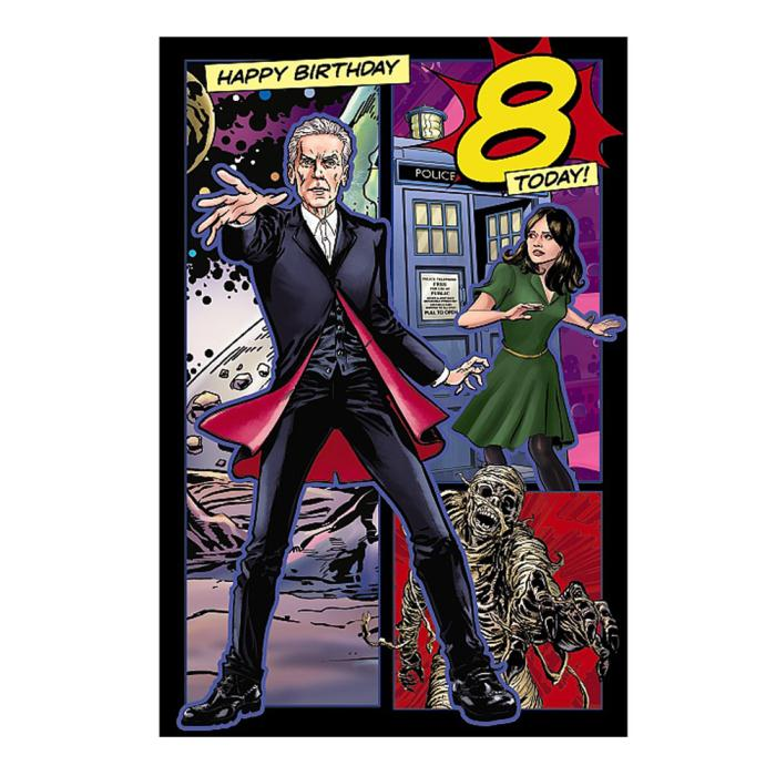 Doctor Who Birthday Cards EBay