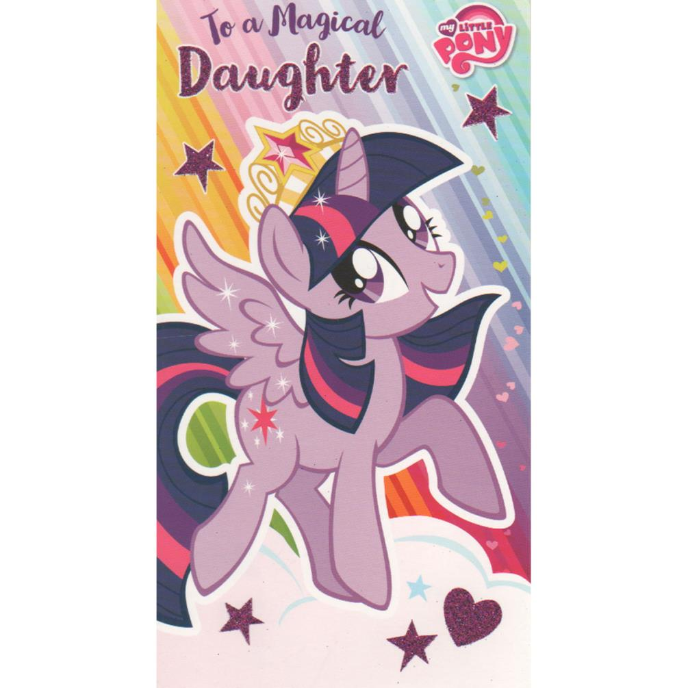 My Little Pony Daughter Birthday Card MP016 Character