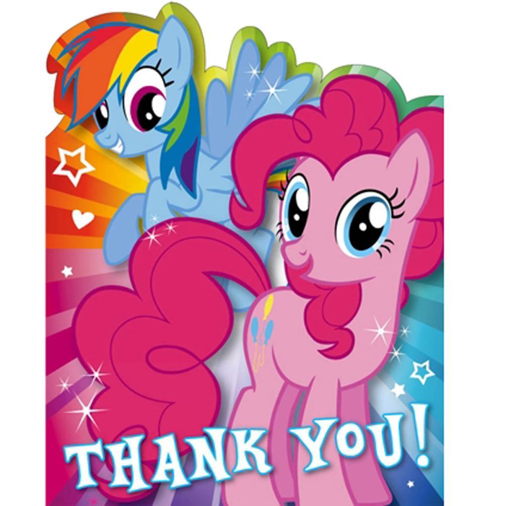 My Little Pony Birthday Cards Assorted EBay