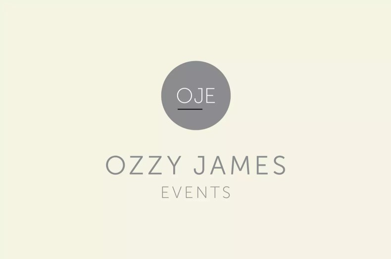 Logo Design Liverpool for Ozzy James Events