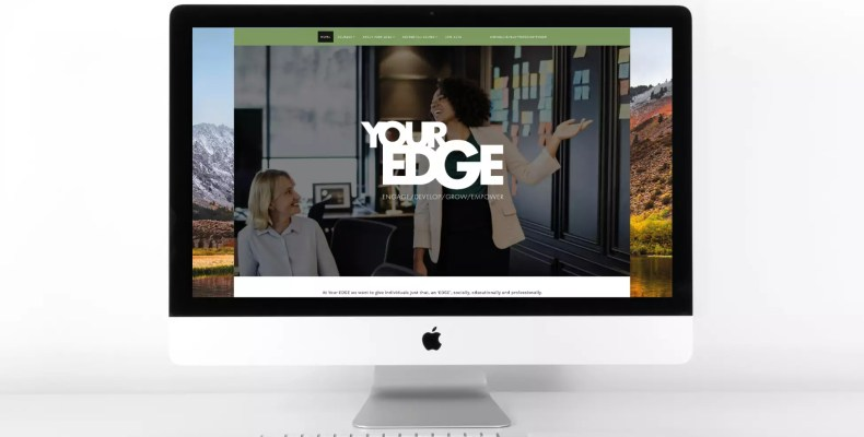 Website Design by Character Creates for Your Edge Training