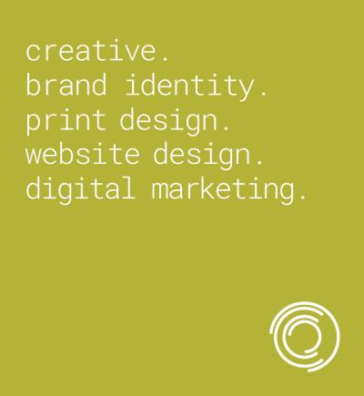 Creative. Brand Identity. Print Design. Website Design. Digital Marketing.