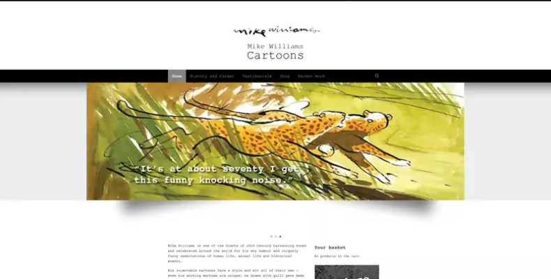 Mike Williams Website Design by Character Creates