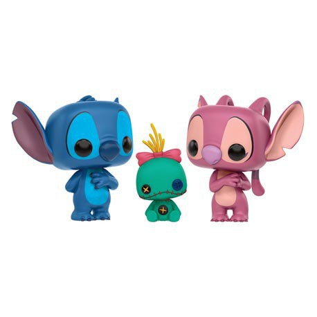 Cute Tokidoki Wallpaper Toys Pop Disney Lilo And Stitch 3 Pack Limited Edition