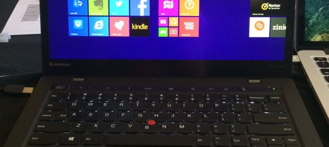 Life with Windows 8.1 on a ThinkPad Ultrabook