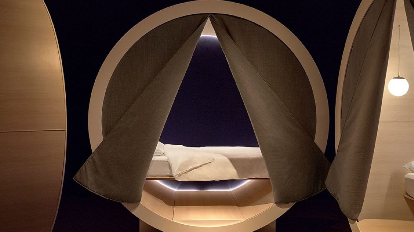 sleep 1 - Napping Pods: Sleeping On The Job