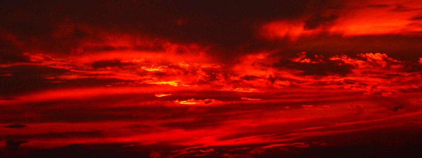 fire red sky - This Weekend in Lahore: Reading, Writing, Talking.