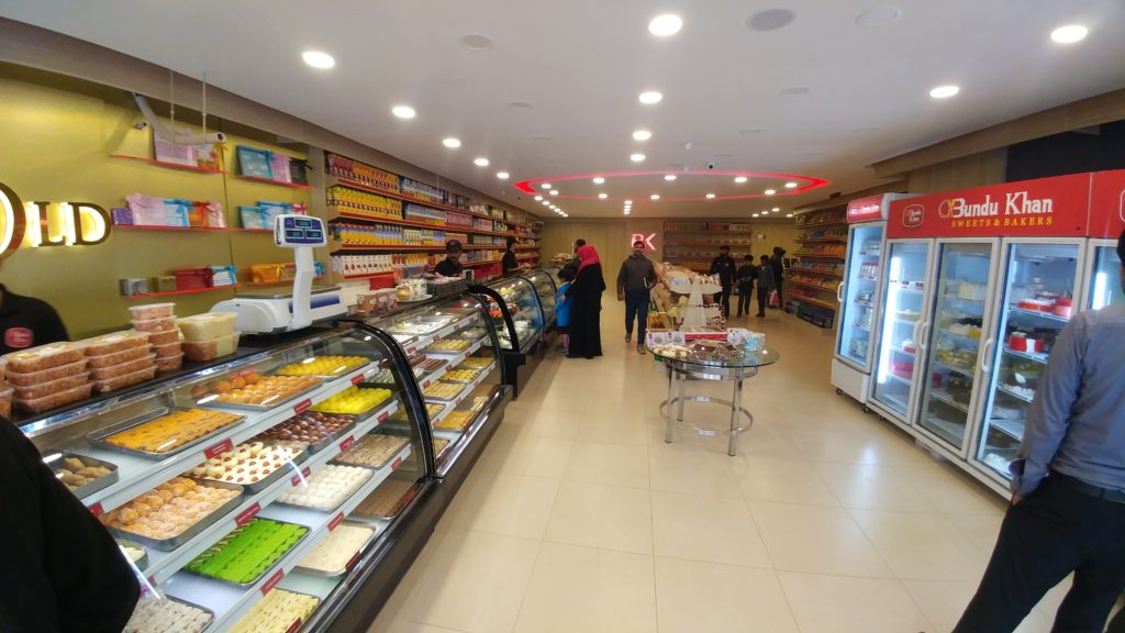 bundu khan bakers and sweets
