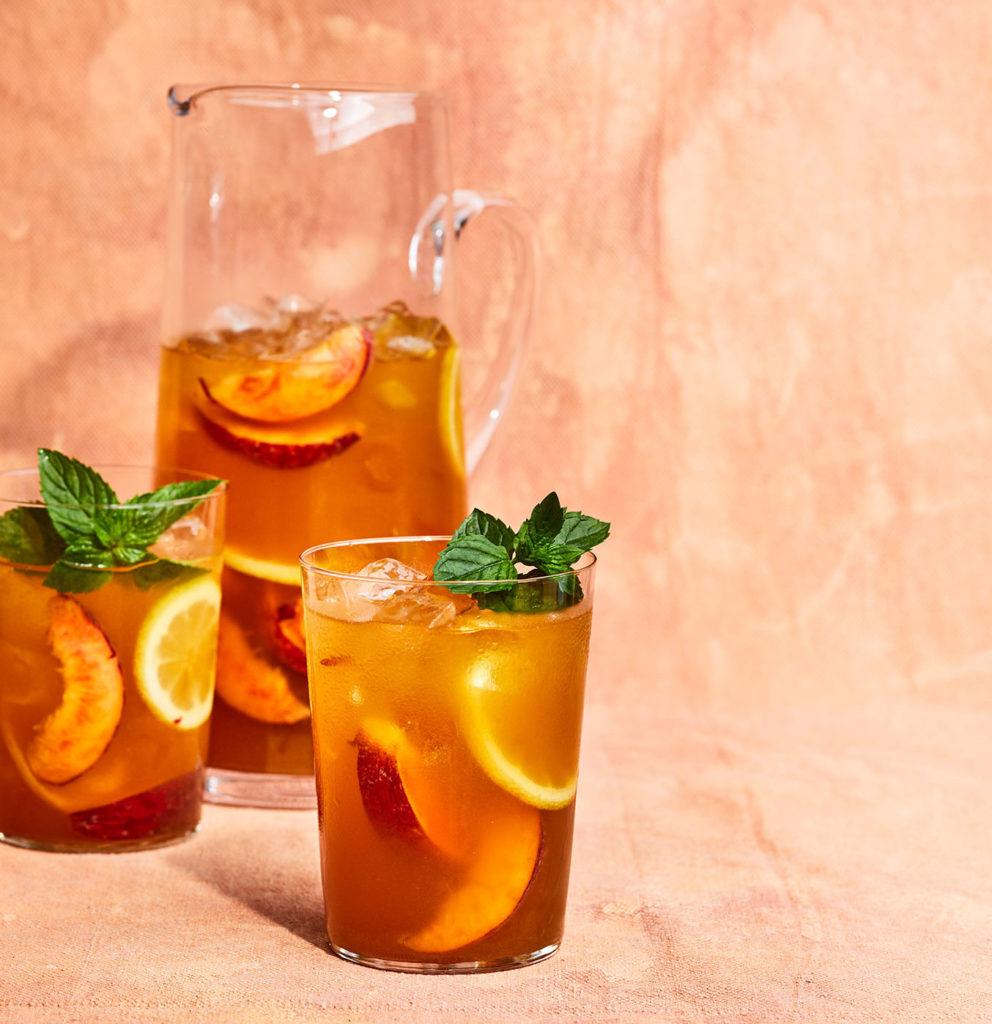 peach iced tea 0819bfy - Espresso Karachi: The Homecoming and Iced Tea