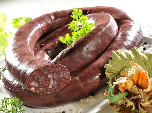 Le Boudin noir aux Châtaignes, variante de notre recette