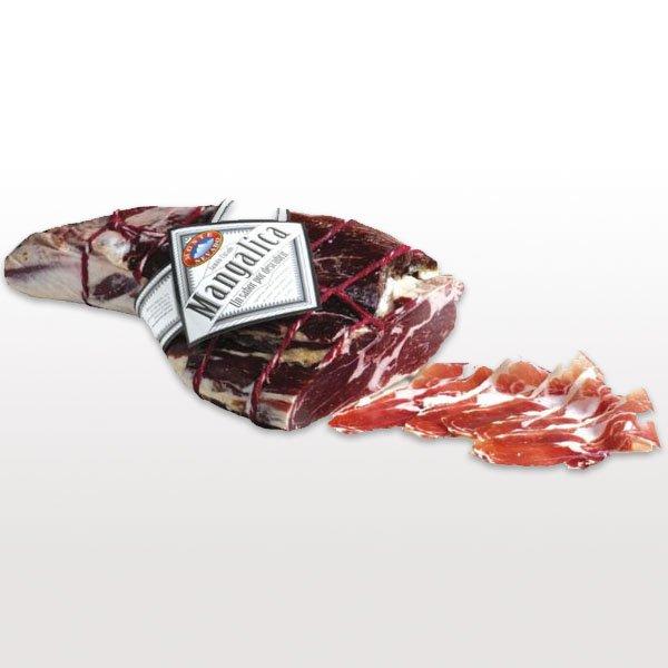 Gedroogde vleeswaren Jamon Mangalica Monte Nevado Spanje