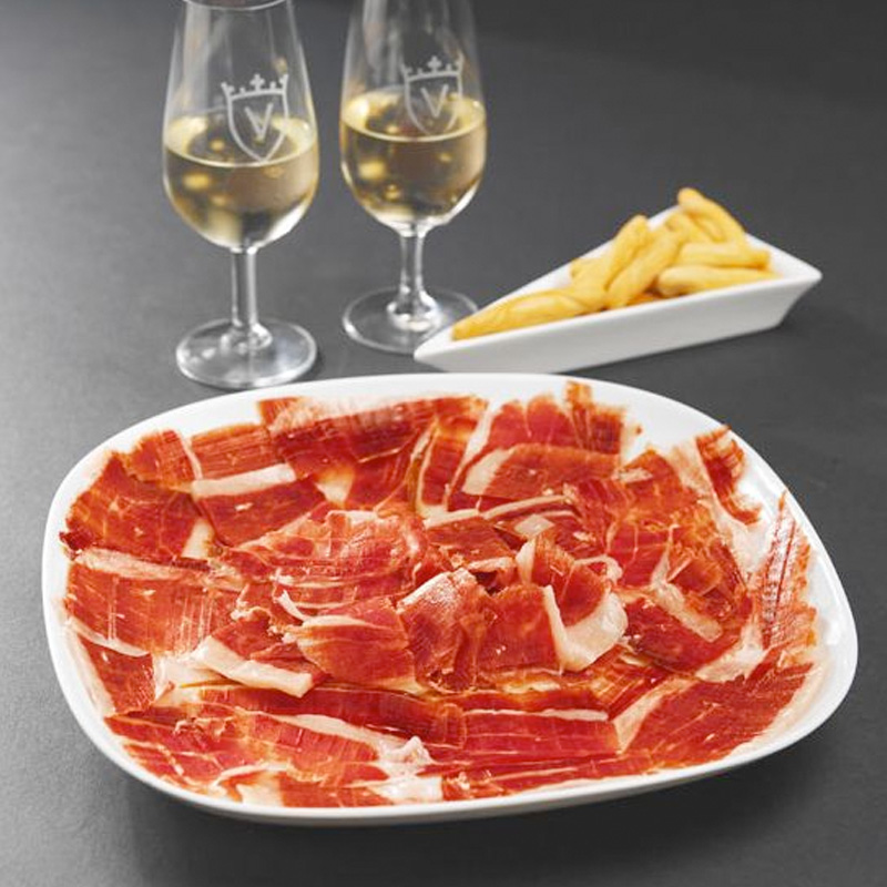 Gedroogde vleeswaren Spaanse ham Jamon 100% Iberico Bellota Juan Pedro Domecq Jabugo Spanje Pata Negra online bestellen webshop