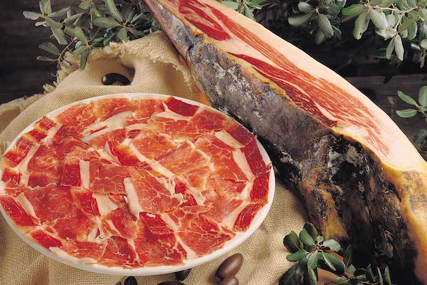 Spaanse jamon Iberico ham online bestellen webwinkel