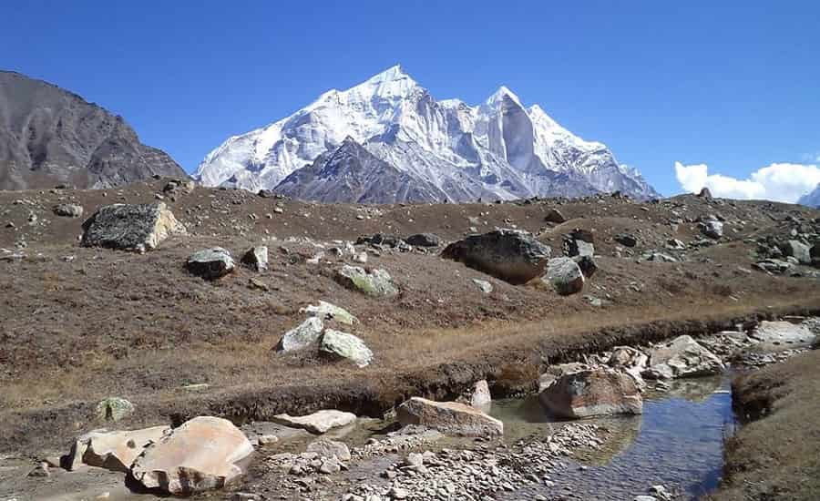 Mount Shivling from Tapovan