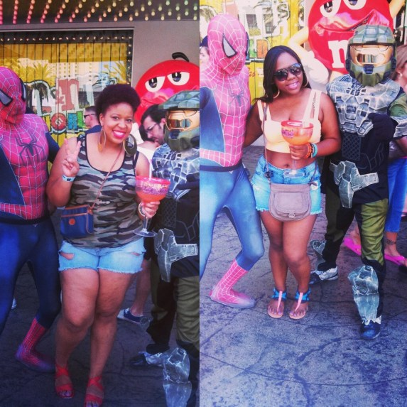 Tank: Corner Store Shorts: DIY High Waist Jeans Sandals: Rainbows