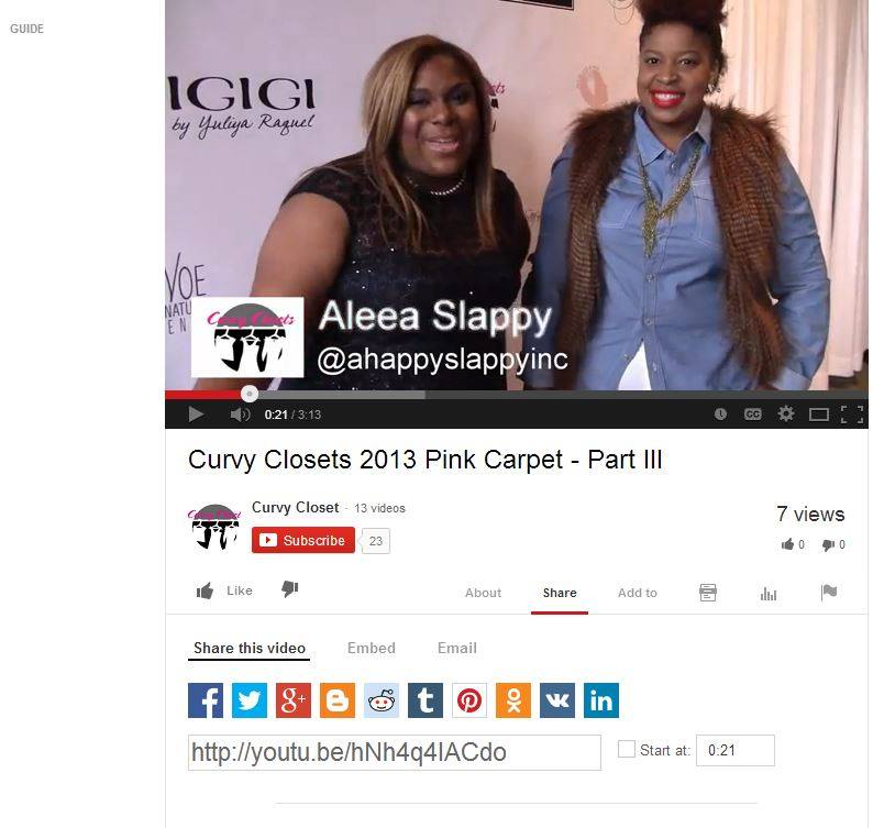 I was interviewed at Curvy Closets as a Curvy Correspondent in Philly!