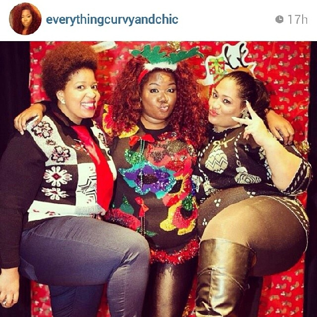 I was able to attend The Ugly Sweater party the ESC Experience and meet amazing women!
