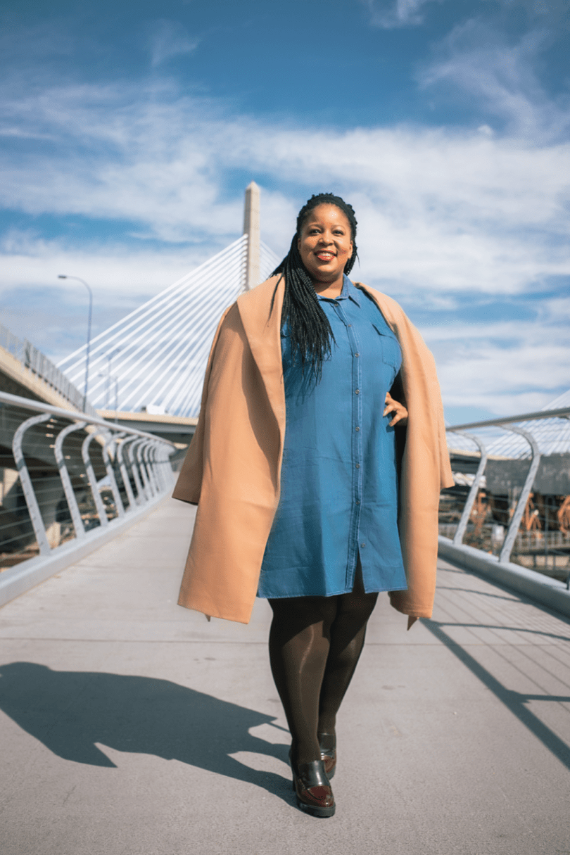 Plus Size Blogger Wearing Old Navy #50Styles50States