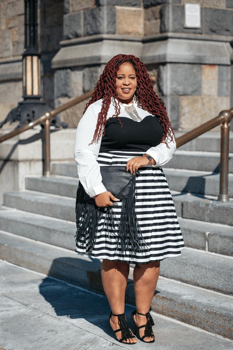 Plus Size Blogger Eloquii