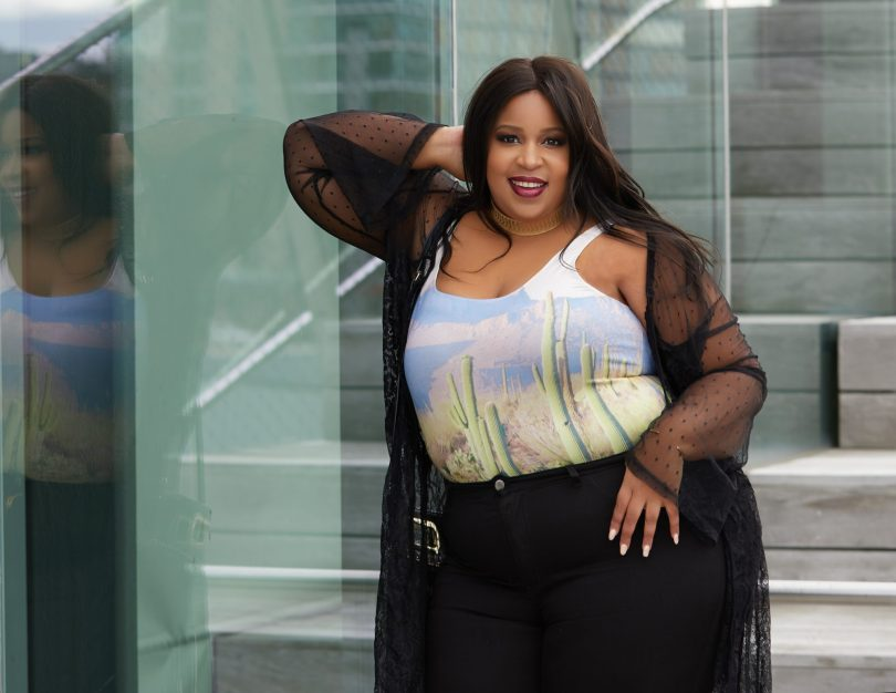 Plus Size Blogger wearing Forever 21
