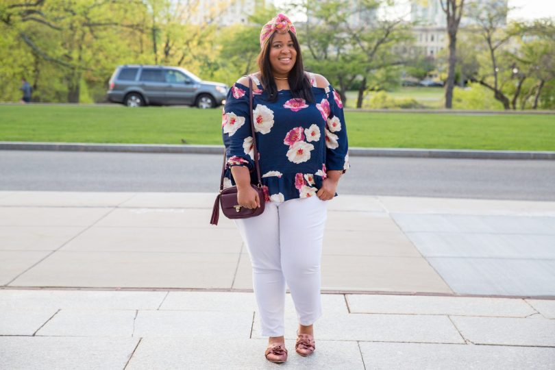 Plus Size Blogger wearing JD Williams