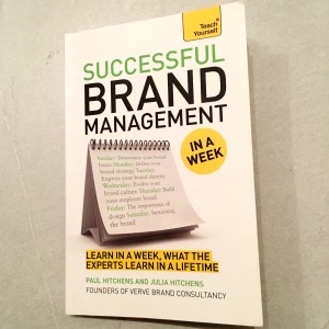 Book cover of Successful Brand Management in a week