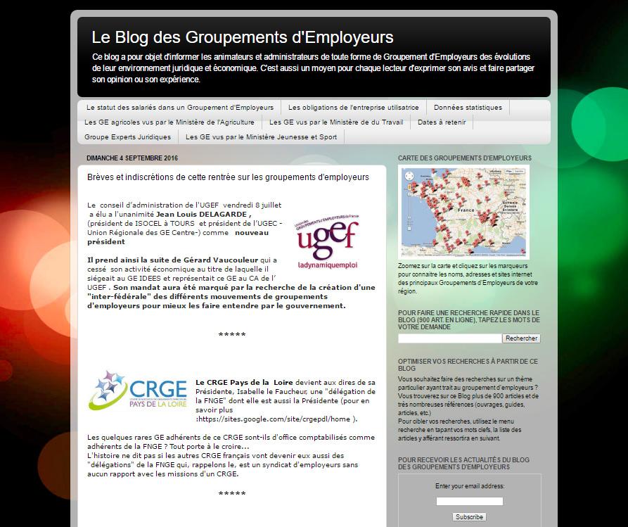 Blog des groupements d'employeurs