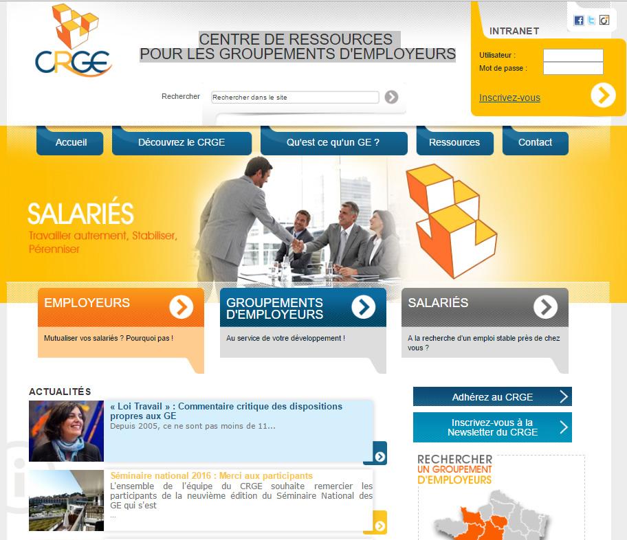 CRGE - Centre de Ressources pour les Groupements d'Employeurs