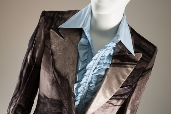 Tom Ford. Velvet, circa 2000, Italy, lent by Robert Verdi. Photo courtesy The Museum at FIT.