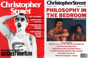 Christopher Street Magazine Covers
