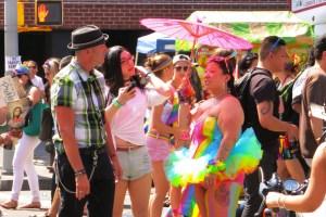 Rainbow Umbrella Fairy Pride
