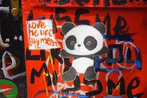 Love Me Like You Mean It - Street Art