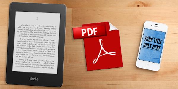 ebooks kindle and pdfs