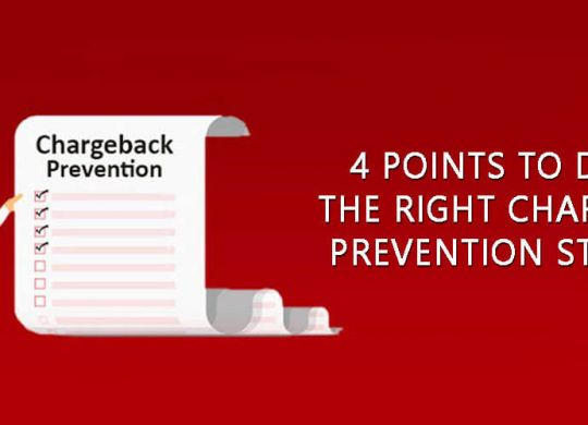 Right Chargeback Prevention Strategy