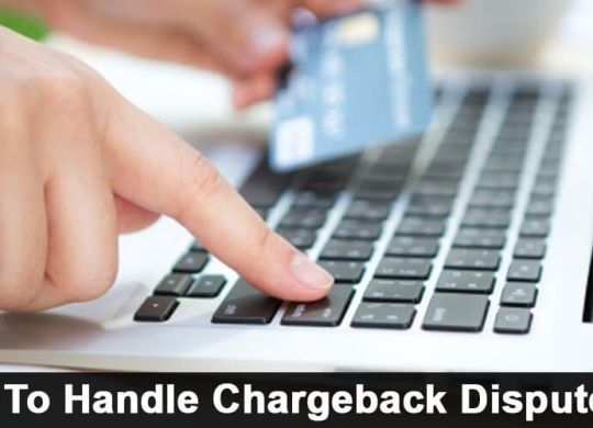 Handle Chargeback Disputes