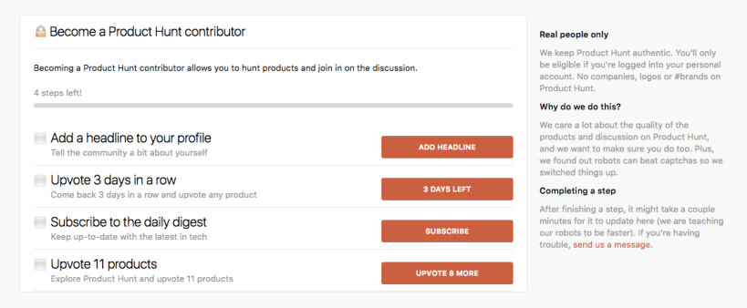 Image result for product hunt friction