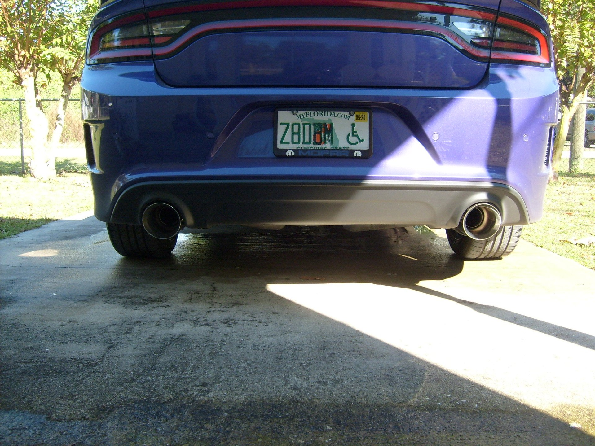 carven 5 exhaust tips dodge charger