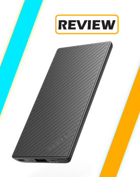 Anker PowerCore Slim 5000 Power Bank Review