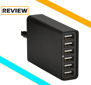 Amazon Basics 6-Port USB Wall Charger Review