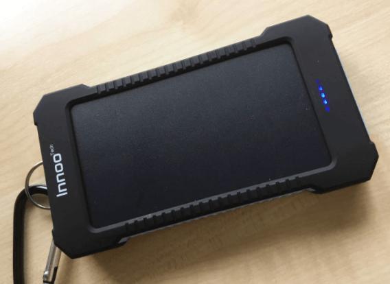 Innoo Tech 10,000mAh Solar Charger